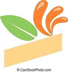 Enjoy - Decorative logo design to show joy.