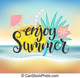 Enjoy summer Clipart Vector and Illustration. 16,843 Enjoy ...