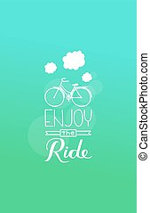enjoy the ride.eps