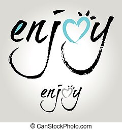 enjoy type