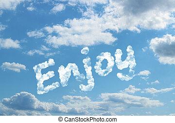 Enjoy word on cloud