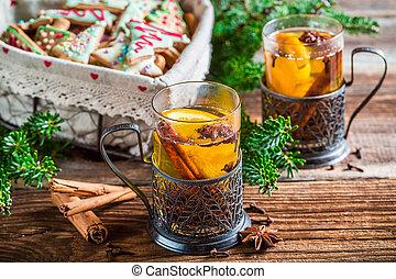 Enjoy your aromatic christmas tea
