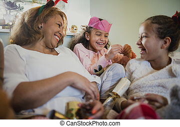 Enjoying Christmas With My Grandchildren
