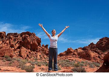 Enjoying Life Again - Breast cancer survivor enjoying life...
