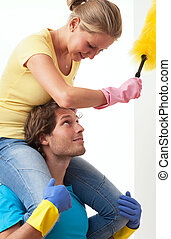 Enjoyment in housework