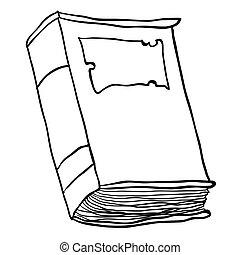Sort på hvid bog