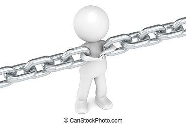 enlace, cadena