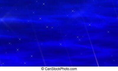 Enlighten Blue Abstract Loop
