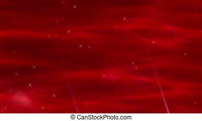 Enlighten Crimson Abstract Loop