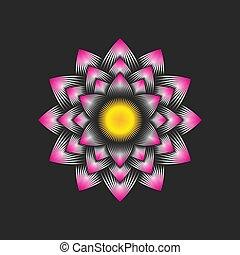 enlightenment, flor, self-regeneration, budismo, logotipo, ...