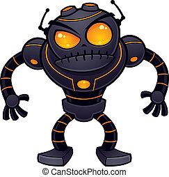 enojado, robot