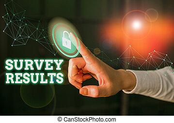 enquête, écriture, texte, mot, data., activité, results., statistique, concept, acquires, ou, collects, résultat, business