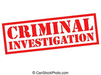 enquête criminelle