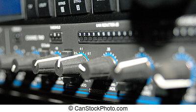 enregistrement, (media, equipment), équipement