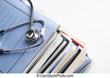 enregistrement, monde médical