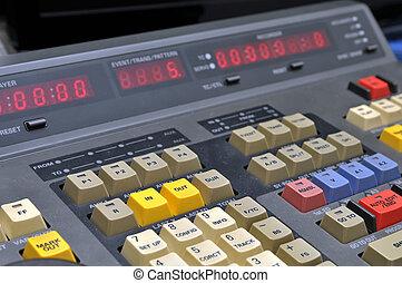 enregistreur, édition, vidéo