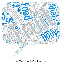 Enrich Your Diet With Fruits And Vegetables Word Cloud Concept Text Background