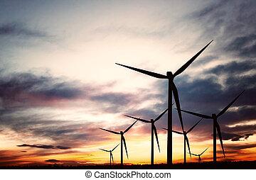 enrolle turbinas, granja