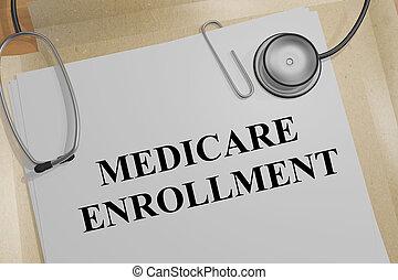 enrollment, 概念, 医療保障