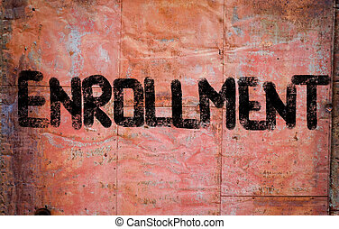 Enrollment Concept