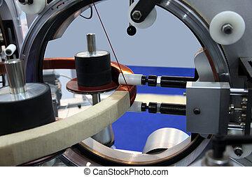 enroulement, toroidal, bobines