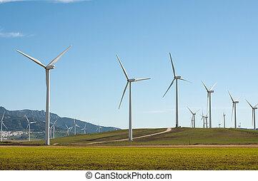 enroulez turbines