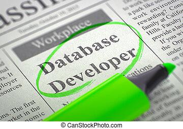 ensamblar, base de datos, team., nuestro, 3d., revelador