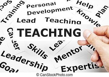 enseñanza, concepto