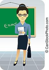 enseñanza, profesor