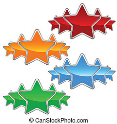 ensemble, étoiles