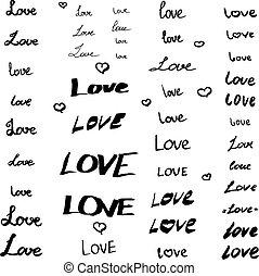 ensemble, amour, signes