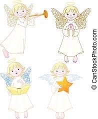 ensemble, anges