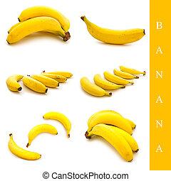 ensemble, banane