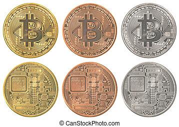 ensemble, bitcoins, collection