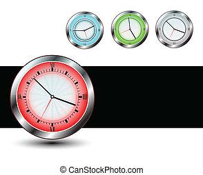 ensemble, classique, clock's