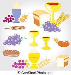 ensemble, communion, illustration