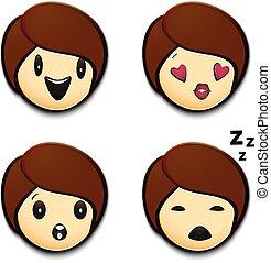 ensemble, emoji