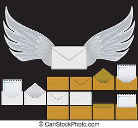 ensemble, enveloppes