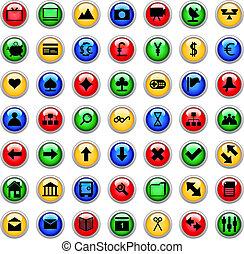 ensemble, icônes