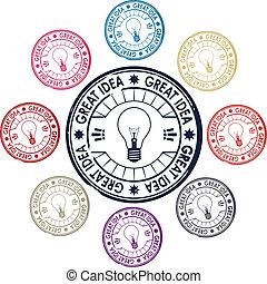 ensemble, idée, timbres