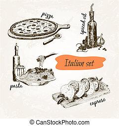 ensemble, italien