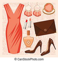 ensemble, mode, robe