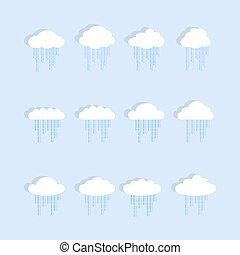 ensemble, nuage, pluie