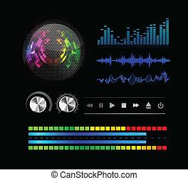 ensemble, ondes sonores