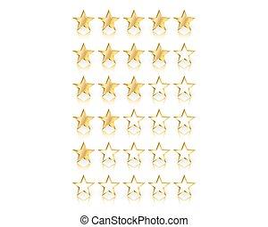 ensemble, or, étoiles