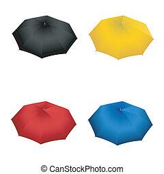 ensemble, parapluie