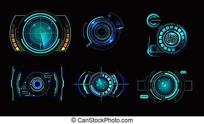 ensemble, radar, hud, interface
