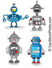 ensemble, robots