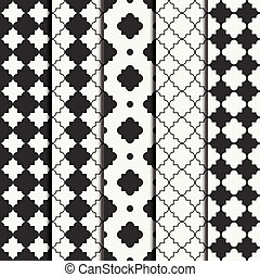 Ensemble swatches marocain arabe texture treillis for Carrelage oriental