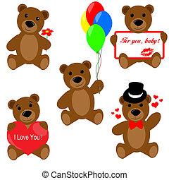 ensemble, teddy, valentin, ours